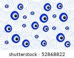 evil eye   Shutterstock .eps vector #52868822