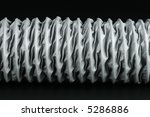 gray plastic flexible tube for... | Shutterstock . vector #5286886
