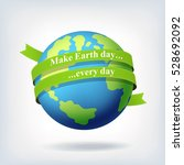 earth day symbol design | Shutterstock . vector #528692092