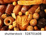 fresh bakery products  closeup | Shutterstock . vector #528701608