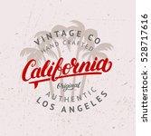 california hand written... | Shutterstock .eps vector #528717616