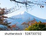 fuji mountain. | Shutterstock . vector #528733732