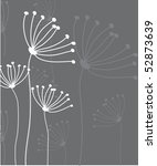 floral card | Shutterstock .eps vector #52873639