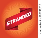 stranded arrow tag sign. | Shutterstock .eps vector #528742015