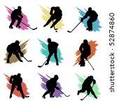 ice hockey | Shutterstock .eps vector #52874860