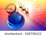 experiments in the laboratory | Shutterstock . vector #528758122