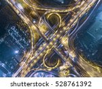 road traffic in city at... | Shutterstock . vector #528761392