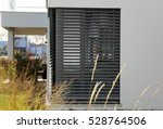 window with shutter  exterior...   Shutterstock . vector #528764506