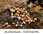 sand and stones on the shore of ... | Shutterstock . vector #528766396