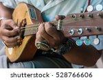 Musician Playing A Mandolin