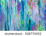 abstract colorful painting in... | Shutterstock . vector #528774352