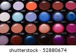 make up collection for creative ... | Shutterstock . vector #52880674
