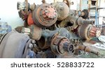car spare parts | Shutterstock . vector #528833722
