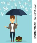 young businessman concept of... | Shutterstock .eps vector #528846262
