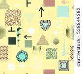 trendy geometric elements...   Shutterstock .eps vector #528849382
