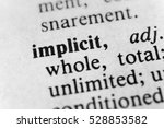 Small photo of Implicit