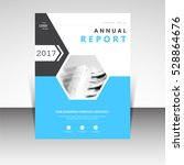 business annual report brochure ... | Shutterstock .eps vector #528864676