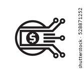 mobile payment. digital money... | Shutterstock .eps vector #528871252
