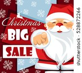 poster template for christmas... | Shutterstock .eps vector #528872266