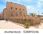 luxor  egypt   november 29 ... | Shutterstock . vector #528893146