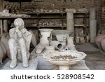 Ancient Workshop With Ruins Of...
