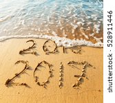 new year 2017 is coming concept ... | Shutterstock . vector #528911446