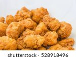 detail of a plate with pieces... | Shutterstock . vector #528918496