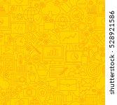 seo yellow line tile pattern.... | Shutterstock .eps vector #528921586