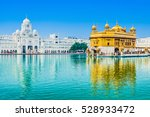 golden temple  harmandir sahib  ... | Shutterstock . vector #528933472