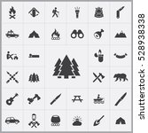 forest icon. camping icons... | Shutterstock . vector #528938338