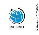 vector logo internet | Shutterstock .eps vector #528941866