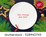 decorative festive composition... | Shutterstock .eps vector #528942745