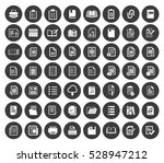 file and folder icons set | Shutterstock .eps vector #528947212