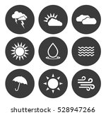 weather icons  | Shutterstock .eps vector #528947266