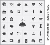 cooking icons universal set  | Shutterstock . vector #528947602