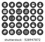 books icons set | Shutterstock .eps vector #528947872