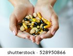 vitamins and supplements.... | Shutterstock . vector #528950866