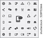 sms icon. communication icons... | Shutterstock . vector #528952666