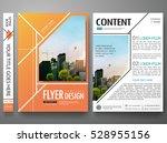 portfolio design template... | Shutterstock .eps vector #528955156