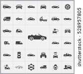 car icons universal set for web ... | Shutterstock . vector #528957805
