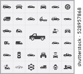 car icons universal set for web ... | Shutterstock . vector #528957868