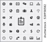 business icons universal set... | Shutterstock . vector #528958582