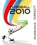 soccer 2010   Shutterstock .eps vector #52896277