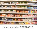 blurred image of vitamin store... | Shutterstock . vector #528976015