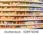 blurred image of vitamin store... | Shutterstock . vector #528976048