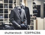 men elegant clothing showcase | Shutterstock . vector #528996286