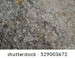 Texture Of Uneven Grey Rock...