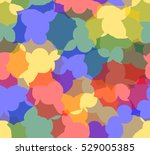 hipster multicolored seamless... | Shutterstock .eps vector #529005385