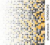 halftone effect pattern.... | Shutterstock .eps vector #529006192