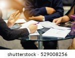 sales manager giving advice to... | Shutterstock . vector #529008256